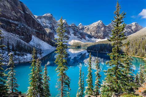 votre bureau tlcharger fond d 39 ecran moraine parc national banff