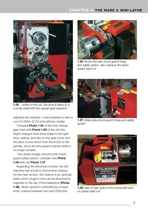 mini lathe tools  projects  home machinists book