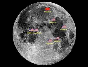 Did the Chinese moon lander photograph previous USA ...