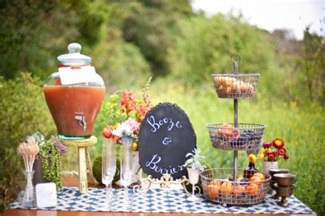 Garden Party Inspiration Booze & Berries Thoughtfully