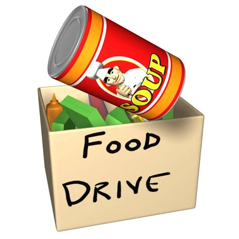 food drive clipart the scc challenge scc s annual food drive
