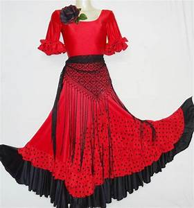 beautiful flamenco dresses and hairstyles by 0ydolorosa3 With robe enfant flamenco