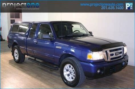 purchase used 2009 ford ranger supercab xlt blue 117k in carlstadt new jersey united