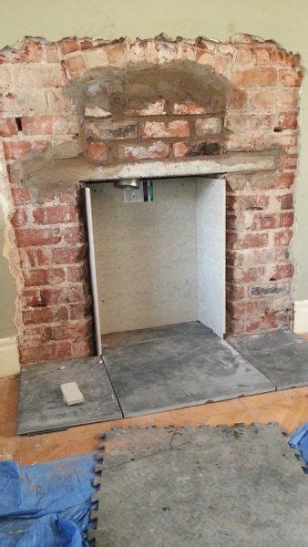Lining a fireplace   GREAT results   The Stove Fitter's Manual