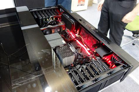 boitier pc bureau découverte du bureau boîtier pc selon lian li