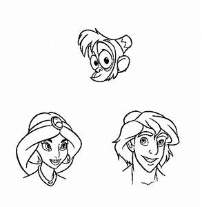 Aladdin Characters Pictures - Coloring Home