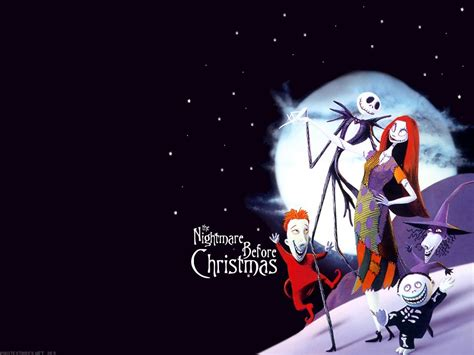 nightmare  christmas background wallpapers