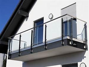 Balkongeländer Glas Anthrazit : leistungen stahl und metallbau wolfgang knor ~ Michelbontemps.com Haus und Dekorationen