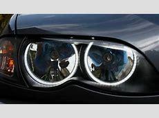 BMW SMD LED Angel Eyes Kit Hungary YouTube