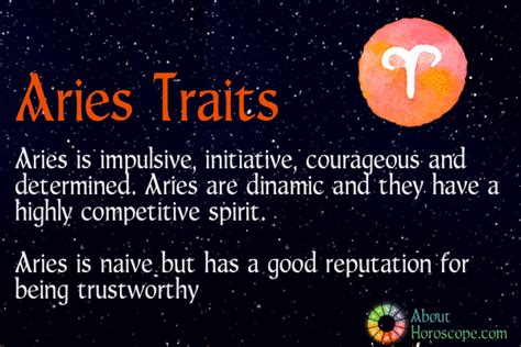 aries negative characteristics aries traits personality and characteristics