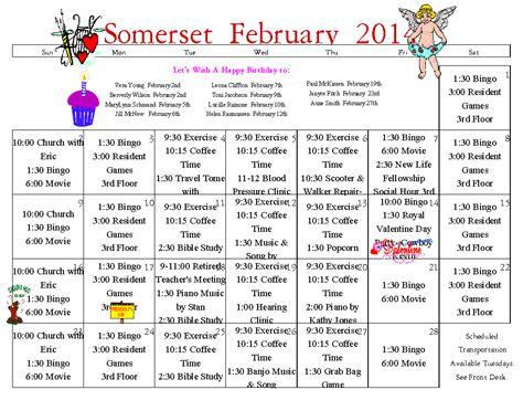 activity calendar template for seniors costumepartyrun