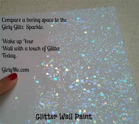 glitter wall paint  girly glitz  crystal clear