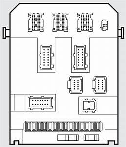 Fiat Scudo Mk2  2006 - 2016  - Fuse Box Diagram