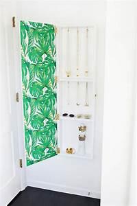 Rangement Bijoux Mural : diy rangement chambre pour articles de mode et de beaut ~ Teatrodelosmanantiales.com Idées de Décoration