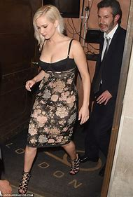 Jennifer Lawrence Corset Dress