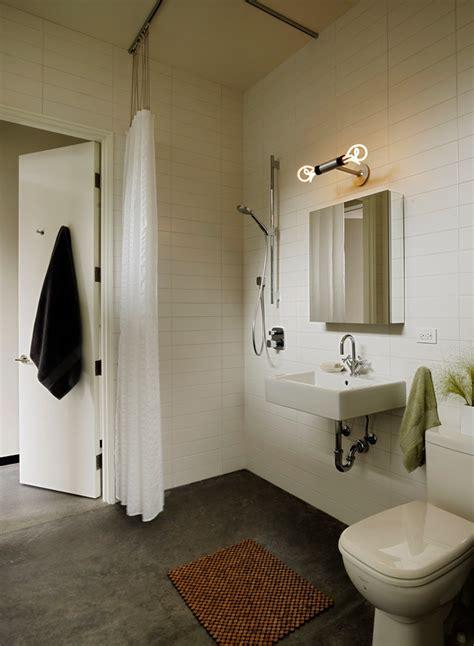 Small Bathroom Lighting Bathroom Contemporary With Double