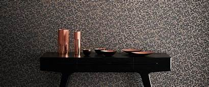 Anthology Fabrics Bronze Midnight Coral Grey Wallpapers