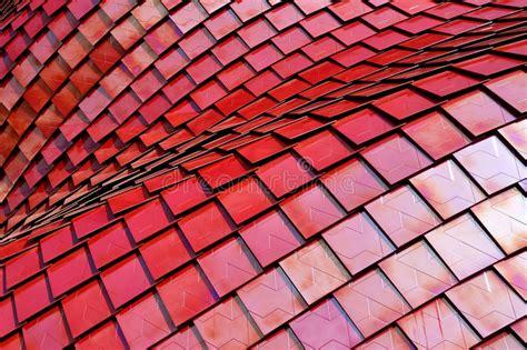 Rotes Abstraktes Gitter Mesh Background Stockfoto Bild