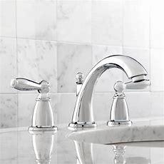 Moen T6620 Brantford Chrome Two Handle Widespread Bathroom
