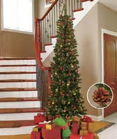 7ft slim pre lit christmas tree christmasshack