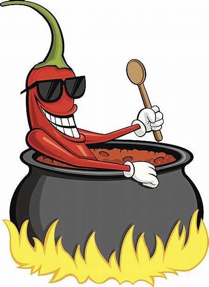 Chili Pepper Vector Clip Illustrations Pot Graphics