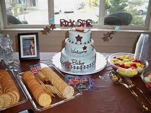 Rock Star Baby Laufstall : cakes by gigi rock star baby baby shower cake ~ Frokenaadalensverden.com Haus und Dekorationen