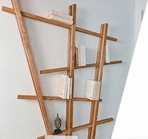 Fabriquer Une étagère Murale Originale : diy comment fabriquer une tag re originale partir de tasseaux diy deco murale bois ~ Dode.kayakingforconservation.com Idées de Décoration