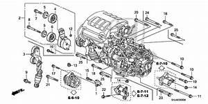 Alternator Bracket 2010 Honda Odyssey Parts Exl 5 Speed