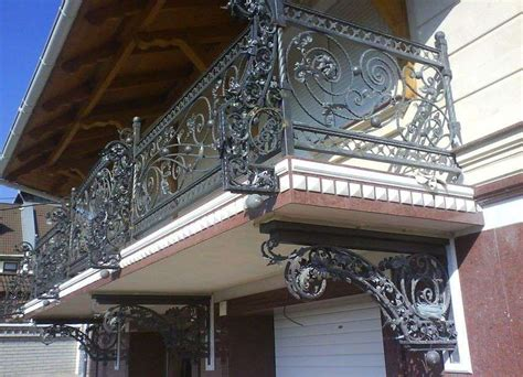 Elegant Wrought Iron Railing Designs For Balcony With Proof