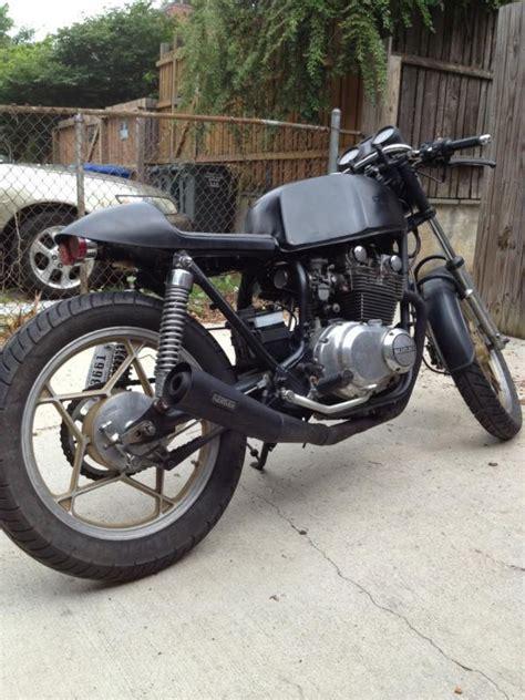 1981 suzuki gs 450 cafe racer for sale on 2040 motos