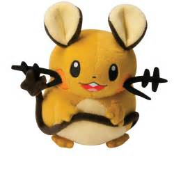 pokemon plush toys 8 inch dedenne at toystop
