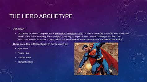 archetypal hero archetypes the hero ppt video online download