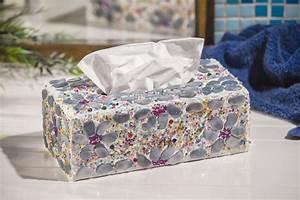 Mosaik Basteln Ideen : kosmetiktuch box mit blumen mosaik vbs hobby bastelshop ~ Lizthompson.info Haus und Dekorationen