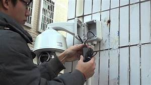 Quick Installation With Golbong Infrared Ip Ptz Camera