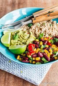 Idée Repas Nombreux : assiette compl te mexicaine vegetarien comida platos ~ Farleysfitness.com Idées de Décoration