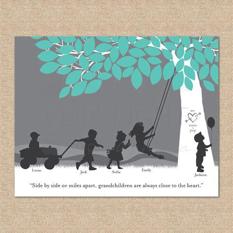 grandparent gift for christmas grandchildren print
