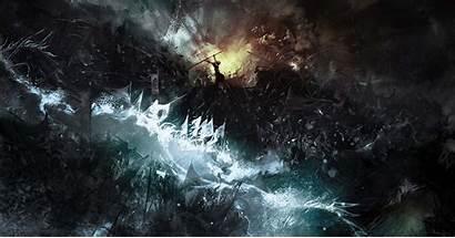 Fantasy Wallpapers Background Fighting Battle Desktop Backgrounds