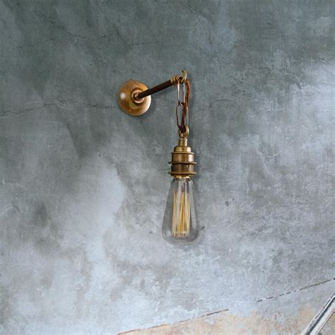 industrial wall light brass e2 contract lighting products brass industrial wall