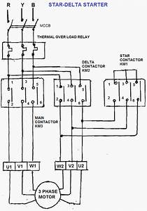 Oil And Gas Electrical And Instrumentation Engineering  Star  Delta Starter Power Diagram