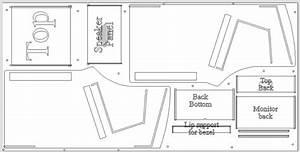 Shed Plans Download  Desktop Arcade Cabinet Plans