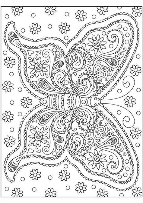 Volwassenen Kleurplaat Mandala Vlinder kleurplaat volwassenen vlinder fiene vlinder