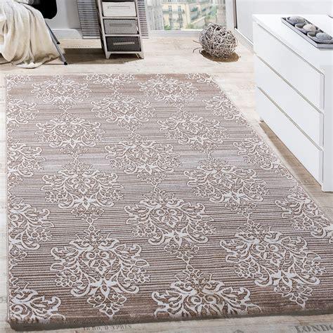 Teppich Wohnzimmer Beige by Teppich Wohnzimmer Floral Muster Abstrakt Beige Creme
