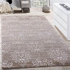 Wohnzimmer Teppich Grau : teppich wohnzimmer klassisch floral muster ornament abstrakt meliert beige creme wohn und ~ Indierocktalk.com Haus und Dekorationen