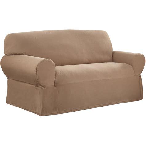 Sure Fit Cotton Duck Sofa Slipcover Walmartcom