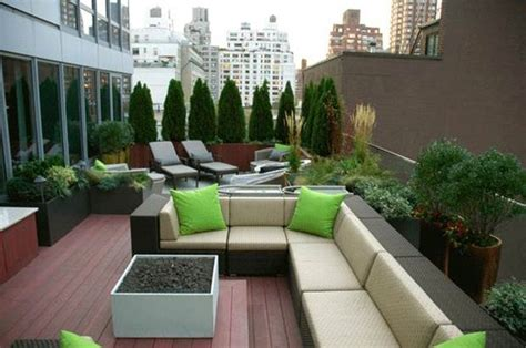 furniture decoration  rooftop garden