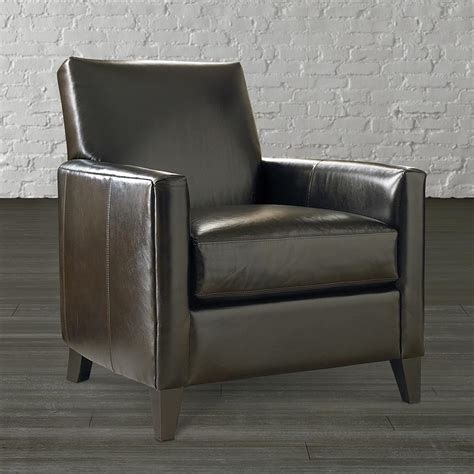 Accent Chairs by Accent Chair Bryce Leather Living Room Bassett Furniture