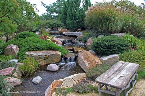 backyard pond kits pondless waterfall diy pondless waterfalls aquascape