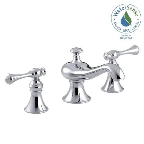 Kohler Bathroom Fixtures by Kohler Revival 8 In Widespread 2 Handle Low Arc Water