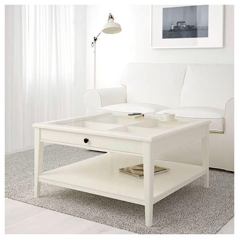Liatorp Coffee Table Whiteglass 93x93 Cm Ikea