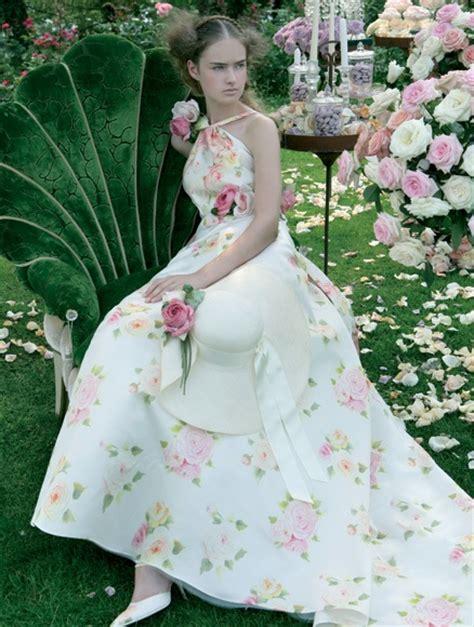 extravagant garden wedding dresses sang maestro